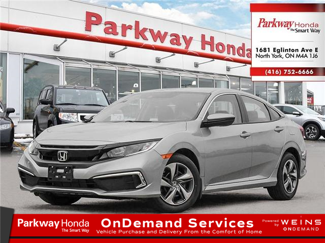 2021 Honda Civic LX (Stk: C1052) in North York - Image 1 of 23