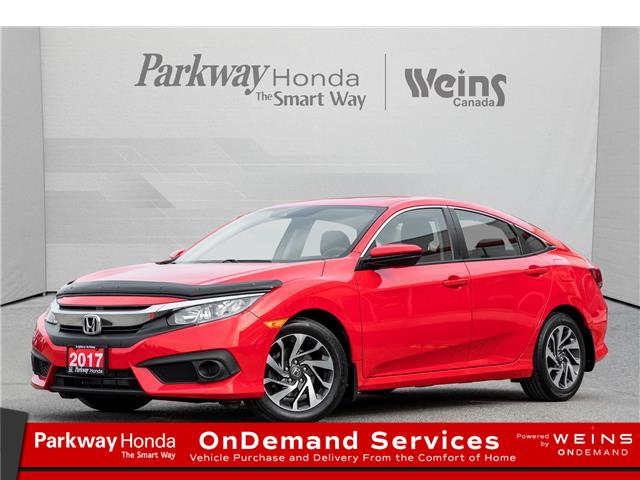 2017 Honda Civic EX (Stk: 17172A) in North York - Image 1 of 22