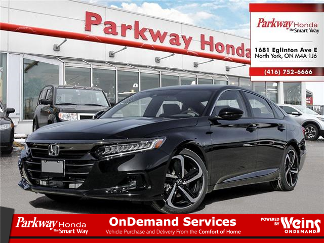 2021 Honda Accord SE 1.5T (Stk: D1015) in North York - Image 1 of 23