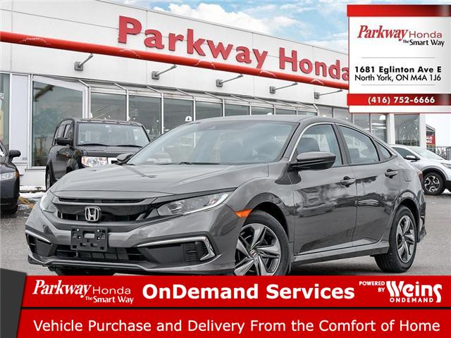 2021 Honda Civic LX (Stk: C1089) in North York - Image 1 of 23