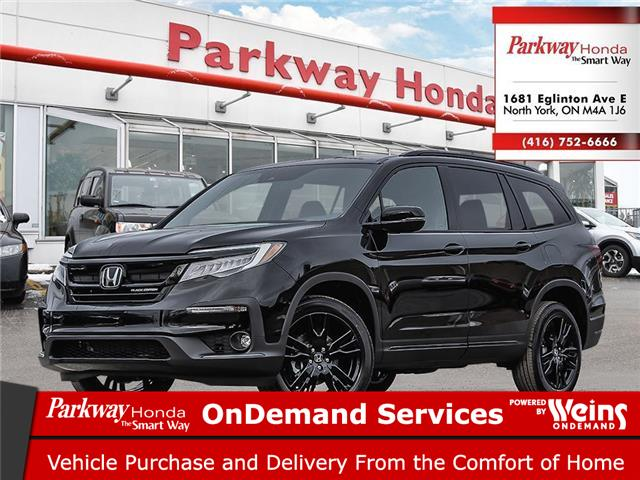 2021 Honda Pilot Black Edition (Stk: H1071) in North York - Image 1 of 23