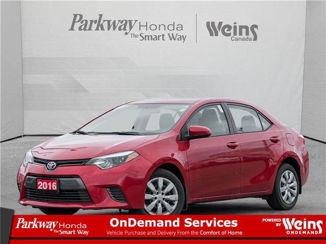 2016 Toyota Corolla LE (Stk: 17213A) in North York - Image 1 of 20