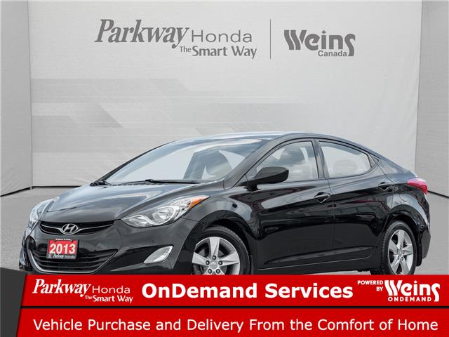 2013 Hyundai Elantra GLS (Stk: 17202B) in North York - Image 1 of 21
