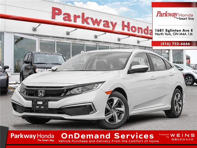 2021 Honda Civic LX (Stk: C1126) in North York - Image 1 of 23