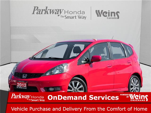 2012 Honda Fit Sport (Stk: E1007A) in North York - Image 1 of 20