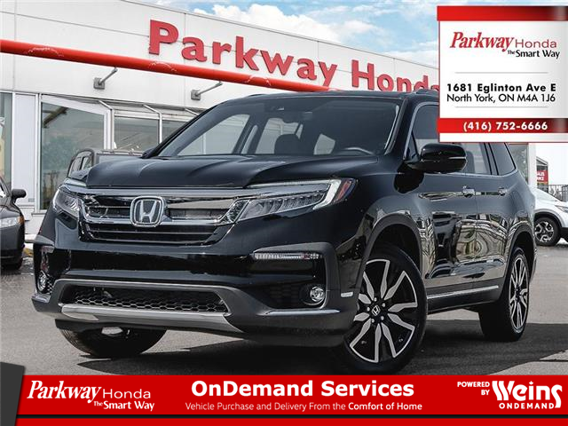 2021 Honda Pilot Touring 8P (Stk: H1078) in North York - Image 1 of 18