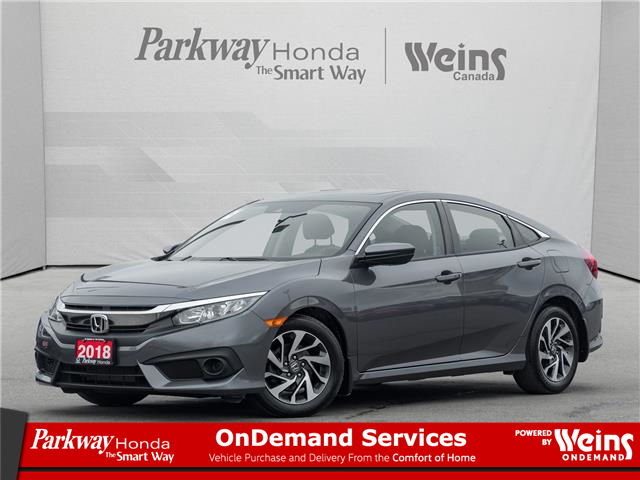 2018 Honda Civic EX (Stk: 17291A) in North York - Image 1 of 22