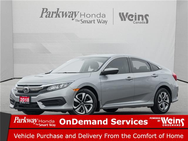 2018 Honda Civic LX (Stk: 17299A) in North York - Image 1 of 20