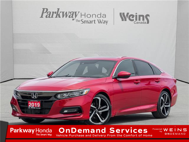 2019 Honda Accord Sport 1.5T (Stk: 17318A) in North York - Image 1 of 22