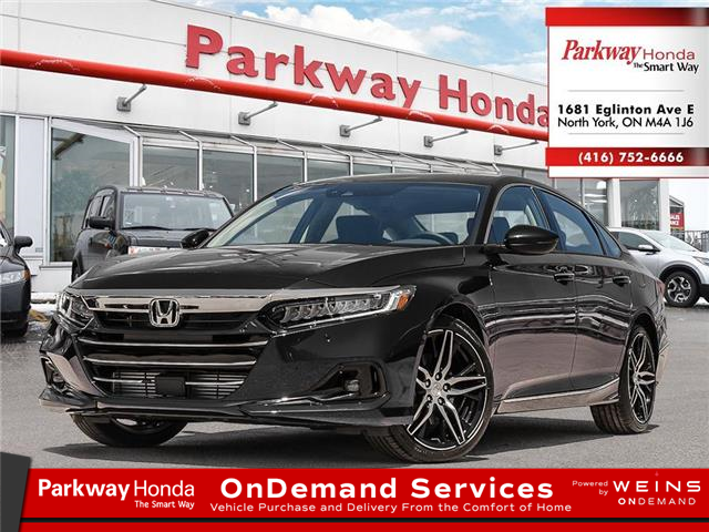 2021 Honda Accord Touring 1.5T (Stk: D1032) in North York - Image 1 of 23