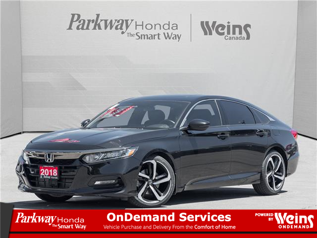 2018 Honda Accord Sport (Stk: D1039A) in North York - Image 1 of 23