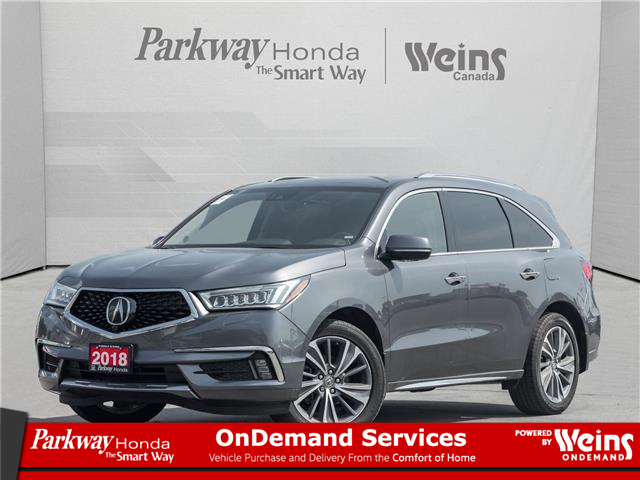2018 Acura MDX Elite Package (Stk: 17375A) in North York - Image 1 of 26