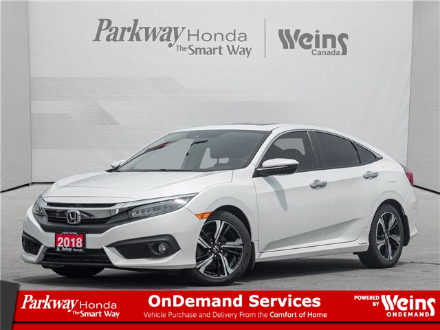 2018 Honda Civic Touring (Stk: 17430A) in North York - Image 1 of 24