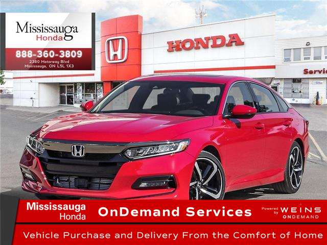 2020 Honda Accord Sport 2.0T (Stk: 327248) in Mississauga - Image 1 of 23