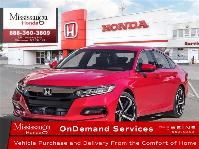 2020 Honda Accord Sport 2.0T (Stk: 327485) in Mississauga - Image 1 of 23