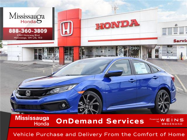 2020 Honda Civic Sport (Stk: 327786) in Mississauga - Image 1 of 23