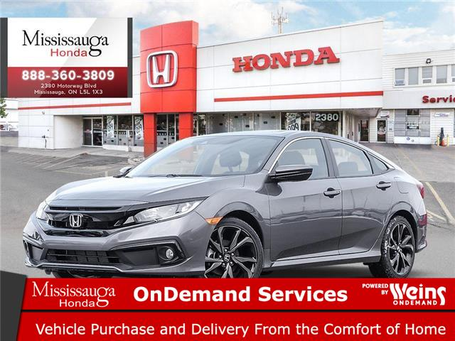 2020 Honda Civic Sport (Stk: 327822) in Mississauga - Image 1 of 23