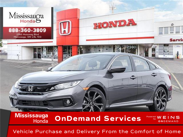 2020 Honda Civic Sport (Stk: 327823) in Mississauga - Image 1 of 23