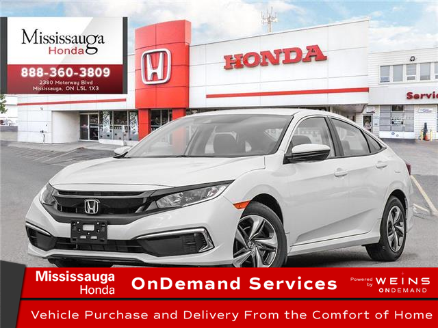 2020 Honda Civic LX (Stk: 328186) in Mississauga - Image 1 of 23