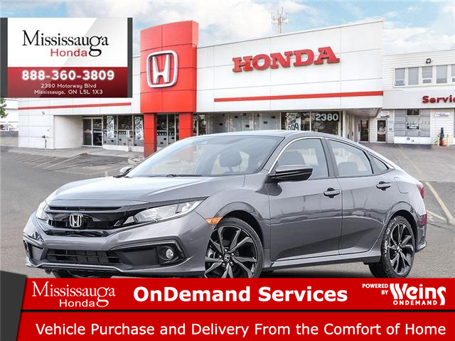 2020 Honda Civic Sport (Stk: 328205) in Mississauga - Image 1 of 23