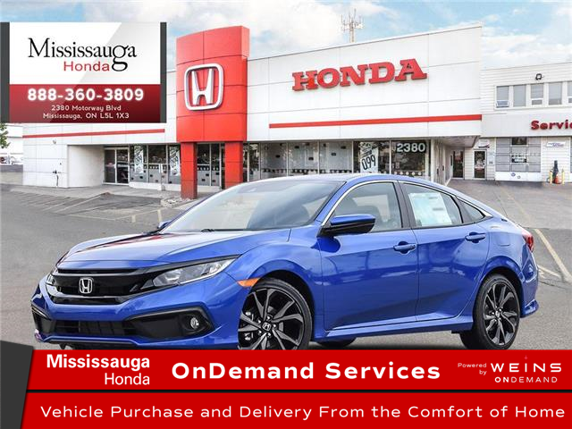 2020 Honda Civic Sport (Stk: 328281) in Mississauga - Image 1 of 23