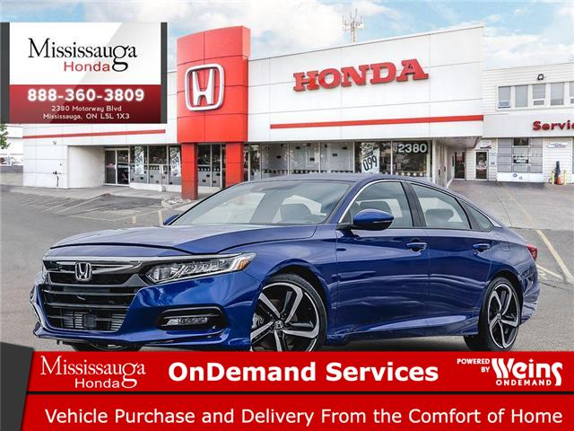 2020 Honda Accord Sport 2.0T (Stk: 328325) in Mississauga - Image 1 of 23