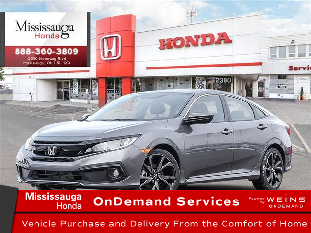 2020 Honda Civic Sport (Stk: 328499) in Mississauga - Image 1 of 23