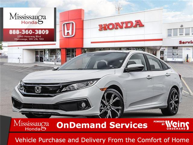 2020 Honda Civic Sport (Stk: 328585) in Mississauga - Image 1 of 23