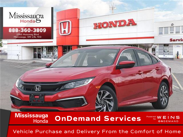 2020 Honda Civic EX w/New Wheel Design (Stk: 328645) in Mississauga - Image 1 of 23