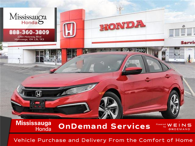2020 Honda Civic LX (Stk: 328649) in Mississauga - Image 1 of 23