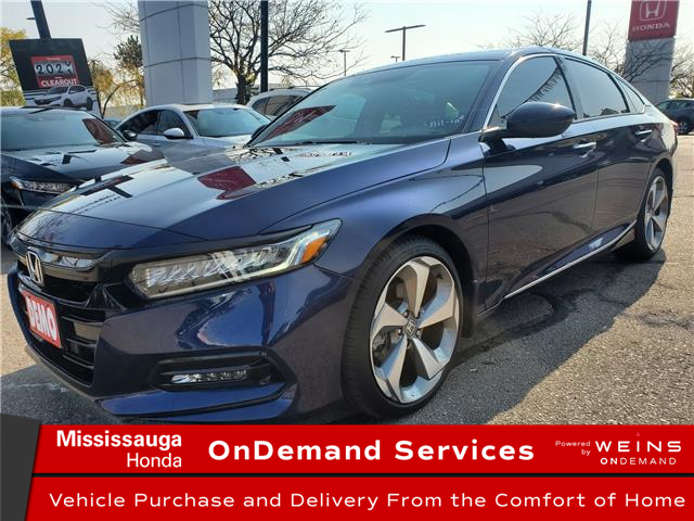 2020 Honda Accord Touring 1.5T (Stk: 327241) in Mississauga - Image 1 of 25