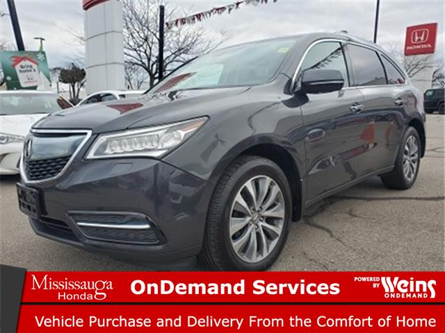 2016 Acura MDX Navigation Package (Stk: 328616A) in Mississauga - Image 1 of 25