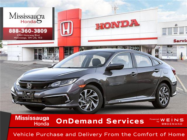 2021 Honda Civic EX (Stk: 328766) in Mississauga - Image 1 of 23