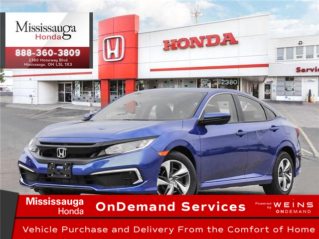 2021 Honda Civic LX (Stk: 328765) in Mississauga - Image 1 of 23