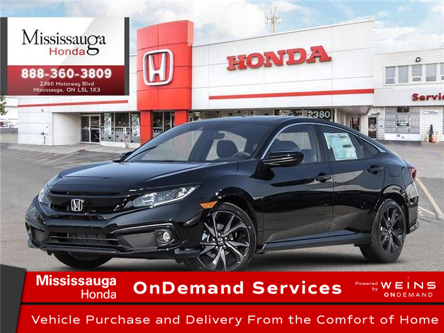 2021 Honda Civic Sport (Stk: 328862) in Mississauga - Image 1 of 23