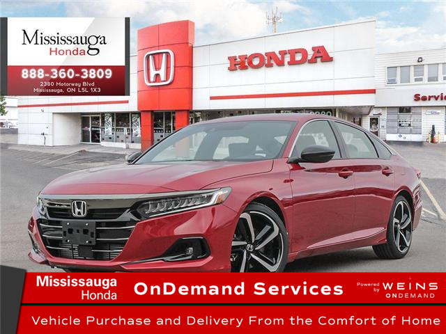 2021 Honda Accord SE 1.5T (Stk: 328887) in Mississauga - Image 1 of 23
