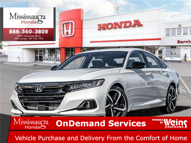 2021 Honda Accord SE 1.5T (Stk: 329007) in Mississauga - Image 1 of 23