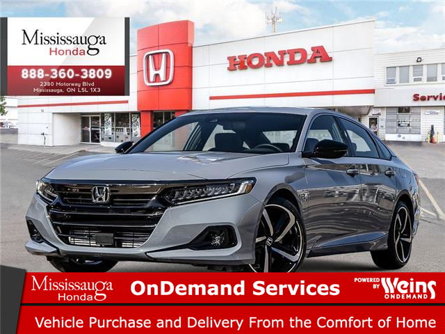 2021 Honda Accord Sport 1.5T (Stk: 328968) in Mississauga - Image 1 of 23
