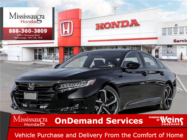 2021 Honda Accord SE 1.5T (Stk: 329110) in Mississauga - Image 1 of 23