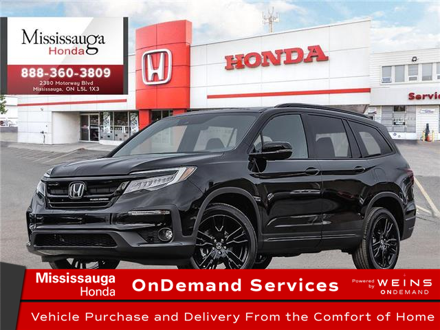 2021 Honda Pilot Black Edition (Stk: 329100) in Mississauga - Image 1 of 23