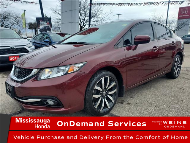 2015 Honda Civic Touring (Stk: 327400A) in Mississauga - Image 1 of 23
