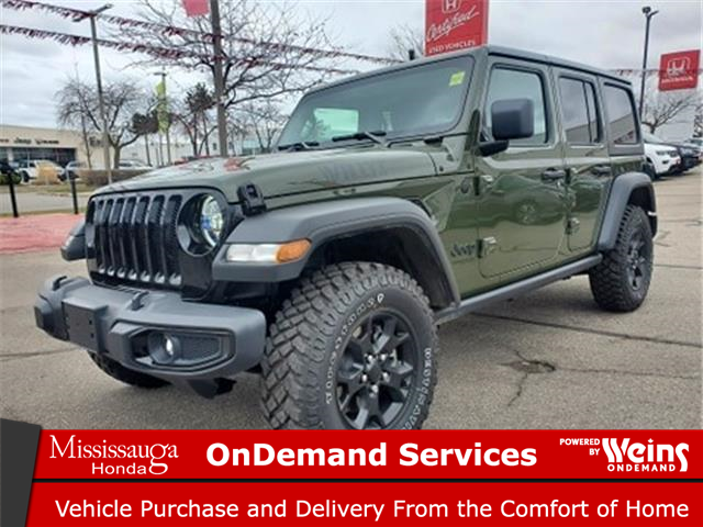 2021 Jeep Wrangler Unlimited Sport (Stk: 328321A) in Mississauga - Image 1 of 19