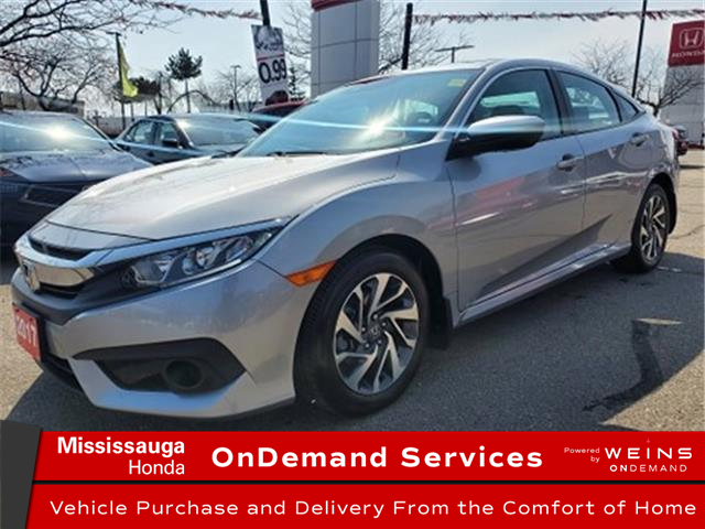 2017 Honda Civic EX (Stk: 328945A) in Mississauga - Image 1 of 23