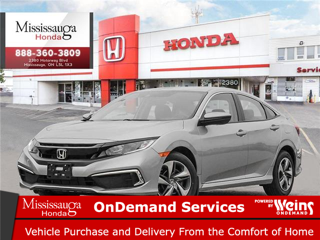 2021 Honda Civic LX (Stk: 329207) in Mississauga - Image 1 of 23
