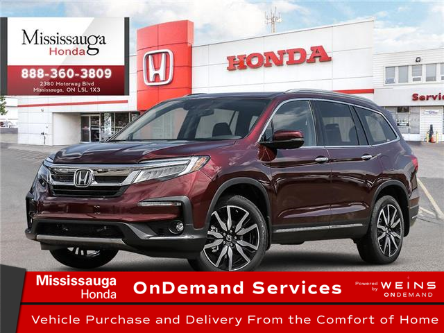 2021 Honda Pilot Touring 8P (Stk: 329232) in Mississauga - Image 1 of 23