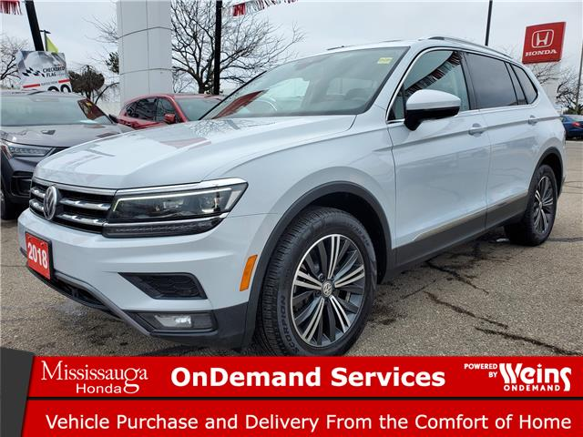 2018 Volkswagen Tiguan Highline (Stk: CP0399) in Mississauga - Image 1 of 23