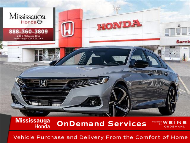 2021 Honda Accord Sport 1.5T (Stk: 329286) in Mississauga - Image 1 of 23