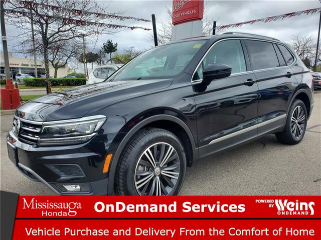 2019 Volkswagen Tiguan Highline (Stk: CP0407) in Mississauga - Image 1 of 23