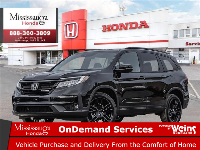 2021 Honda Pilot Black Edition (Stk: 329288) in Mississauga - Image 1 of 23