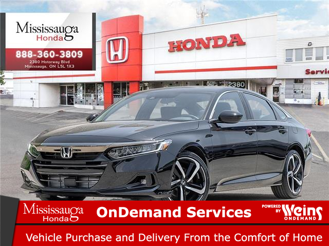 2021 Honda Accord Sport 2.0T (Stk: 329008) in Mississauga - Image 1 of 23